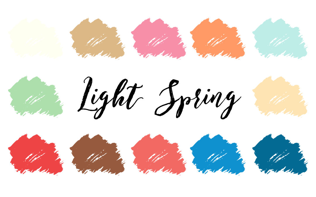 Light Spring Palette (Light Warm) | Infinite Closet