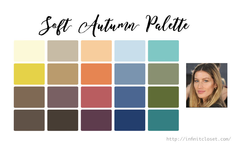 Soft Autumn Palette Infinite Closet