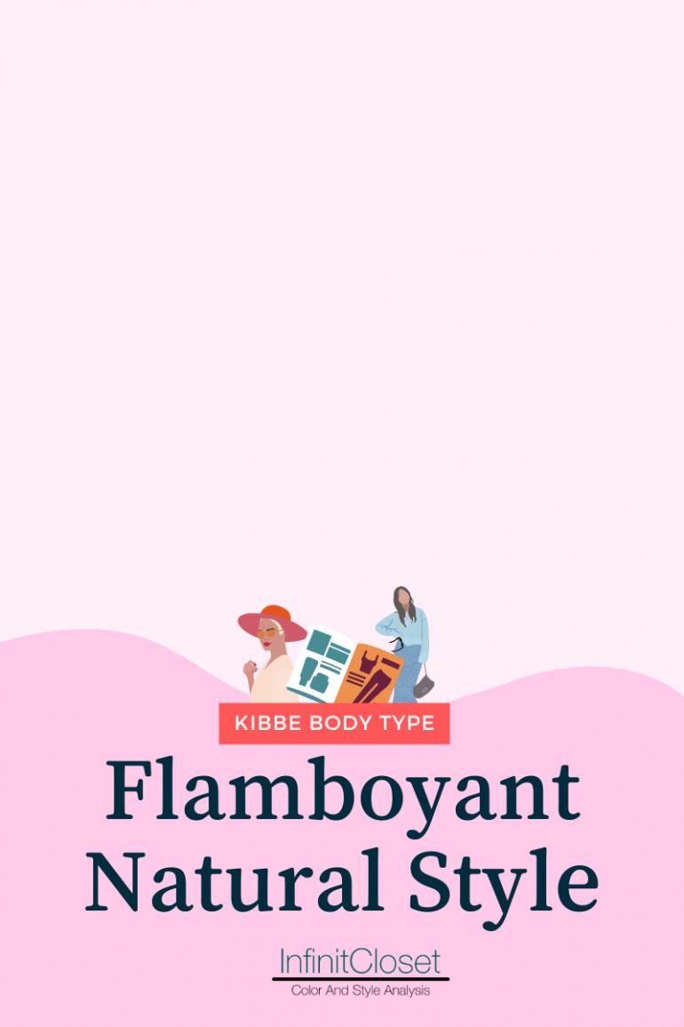 Flamboyant Natural Style heading / Infinit Closet below